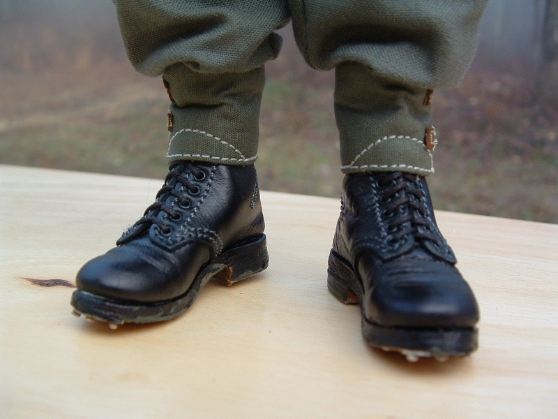 e7375e43fc8 NewLine / shoes for German soldiers in black leggings with the XX-Elite  Force 1 / 6