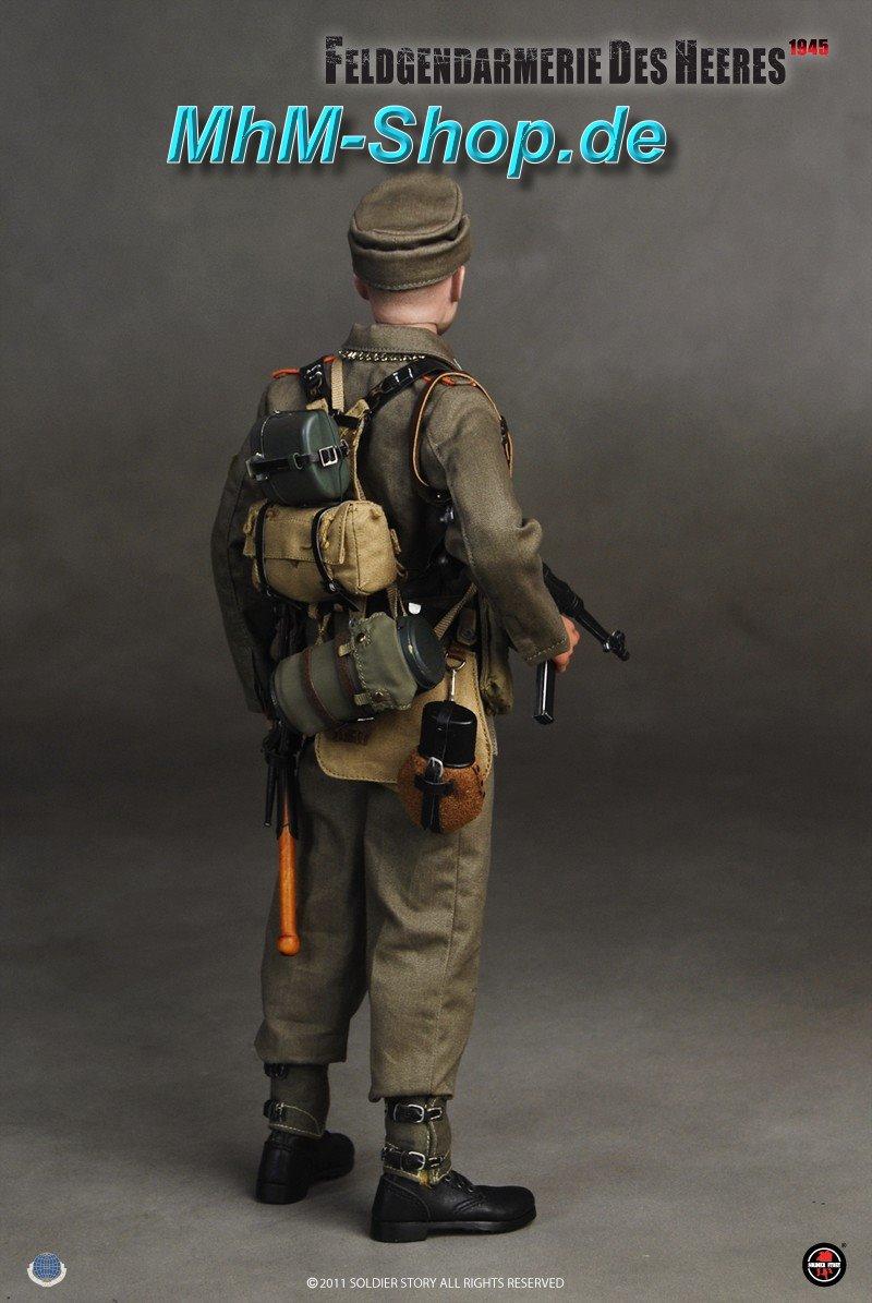 Soldier Story Feldgendarm Heer / deutscher A-Rahmen mit Sturmgepäck ...