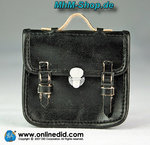 DiD John Colman / Leather briefcase in black 1:6