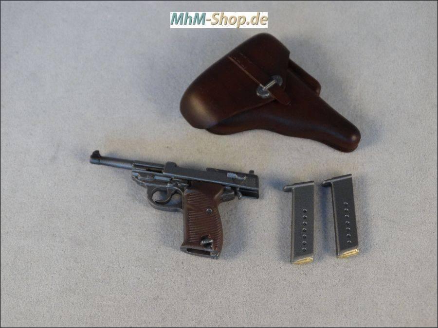 1:6 WW2 German Holster For Gun Pistol Dragon DID Action Figure