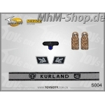 Set-S004-Kurland /German Army Insignias 1/6