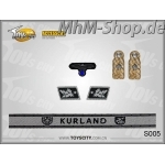 Set-S005-Kurland /German Army Insignias 1/6