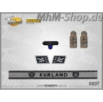 Set-S007-Kurland /German Army Insignias 1/6