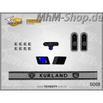 Set-S008-Kurland /German Army Insignias 1/6