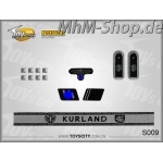 Set-S009-Kurland /German Army Insignias 1/6