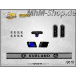 Set-S010-Kurland /German Army Insignias 1/6