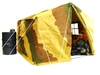 Barrack Sergeant / German Large camouflage Headquarters tent in 1/6