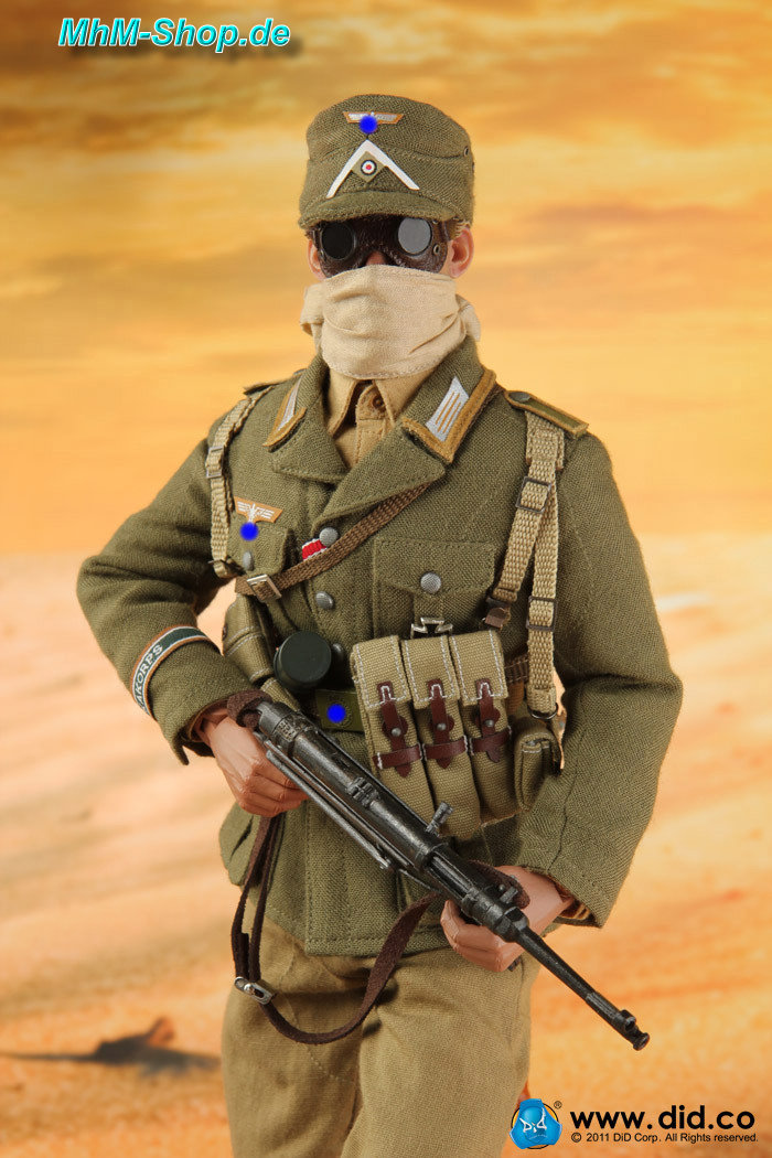 Action Man Afrika Korps Fabric Badges