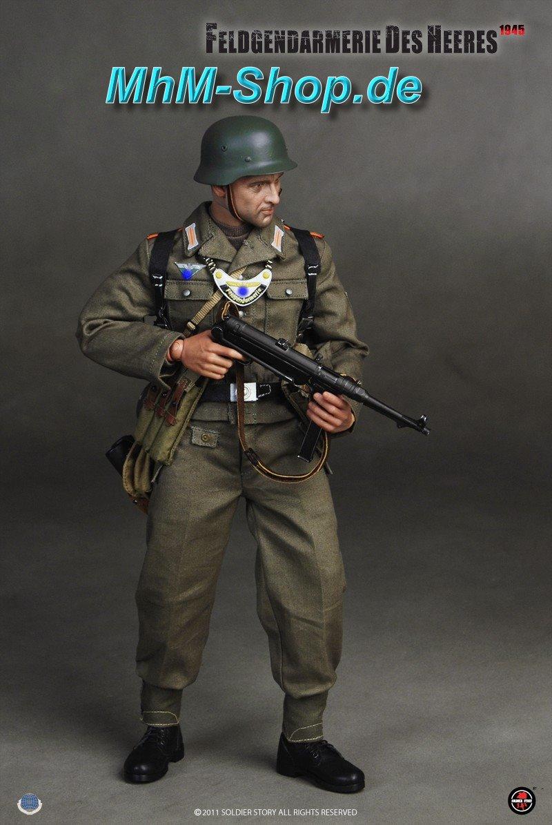 1//6 Scale Soldier Story Figures Feldgendarmerie Des Heeres Uniform /& Patches