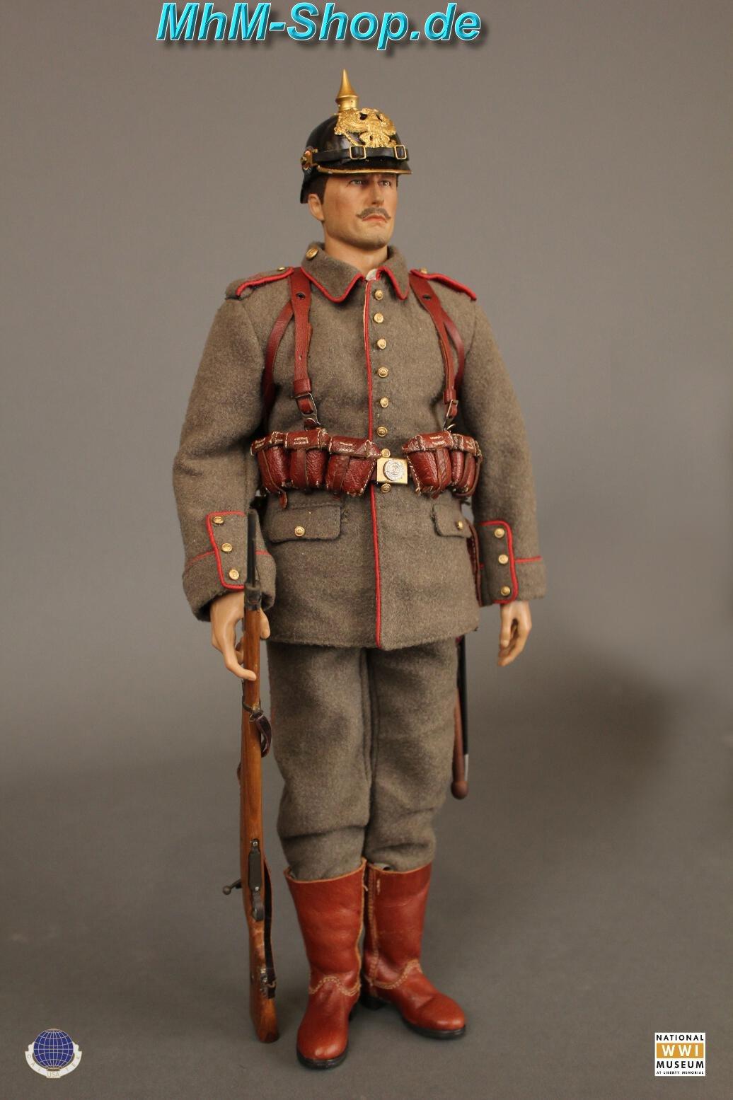 CalTek WWI Imperial German Infantryman / Shirt in white 1/6