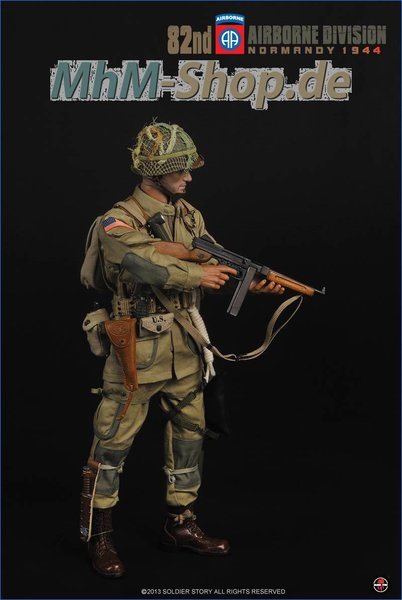 Soldier Story 1//6 SCALA WW2 Esercito Americano Airborne Normandia Bussola 82nd