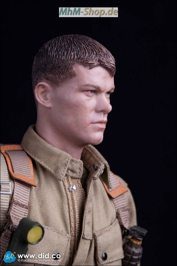 DiD Battle of Stalingrad 1942 Major Erwin König / naked