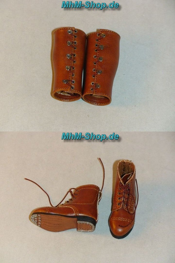 6 leather boots