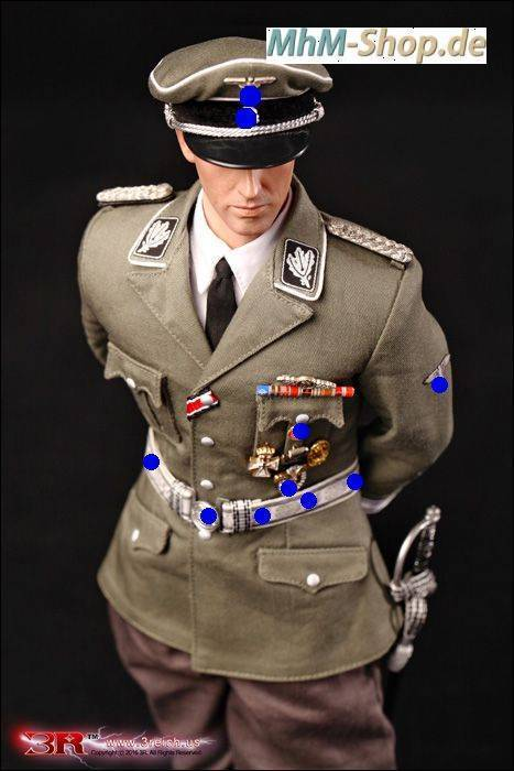 3R Reinhard Heydrich SS / German Orders, Frontflugspange for