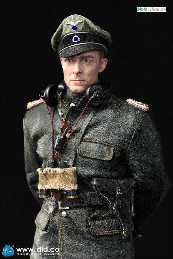 DiD Joachim Peiper SS-standard leader LAH / German tank