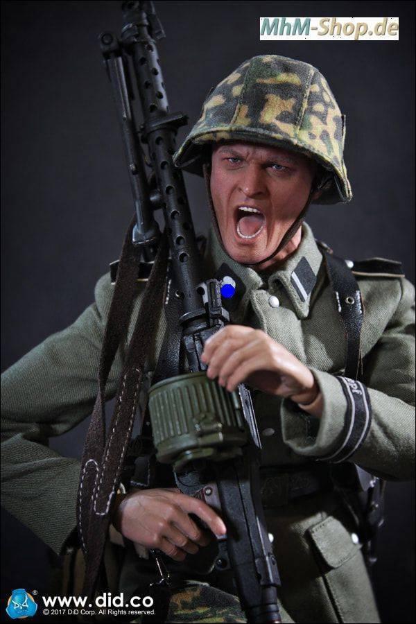 DiD 3rd SS-Panzer-Division MG34 Gunner Alois / deutsche