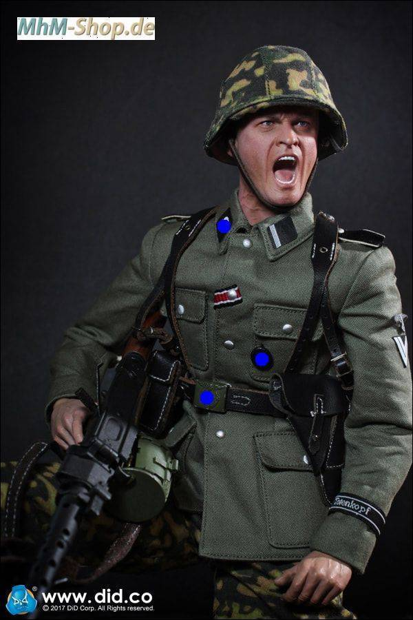 DiD 3rd SS-Panzer-Division MG34 Gunner Alois / naked