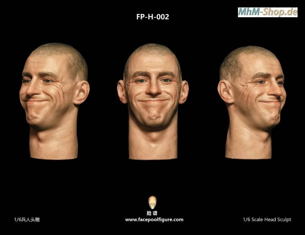 Gesicht Face 5 im Maßstab 1:6