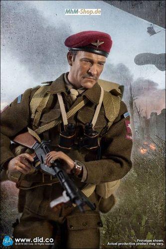 1//6 Scale-DID Action Figures Roy Red Devils COMMANDER-British Uniform Set